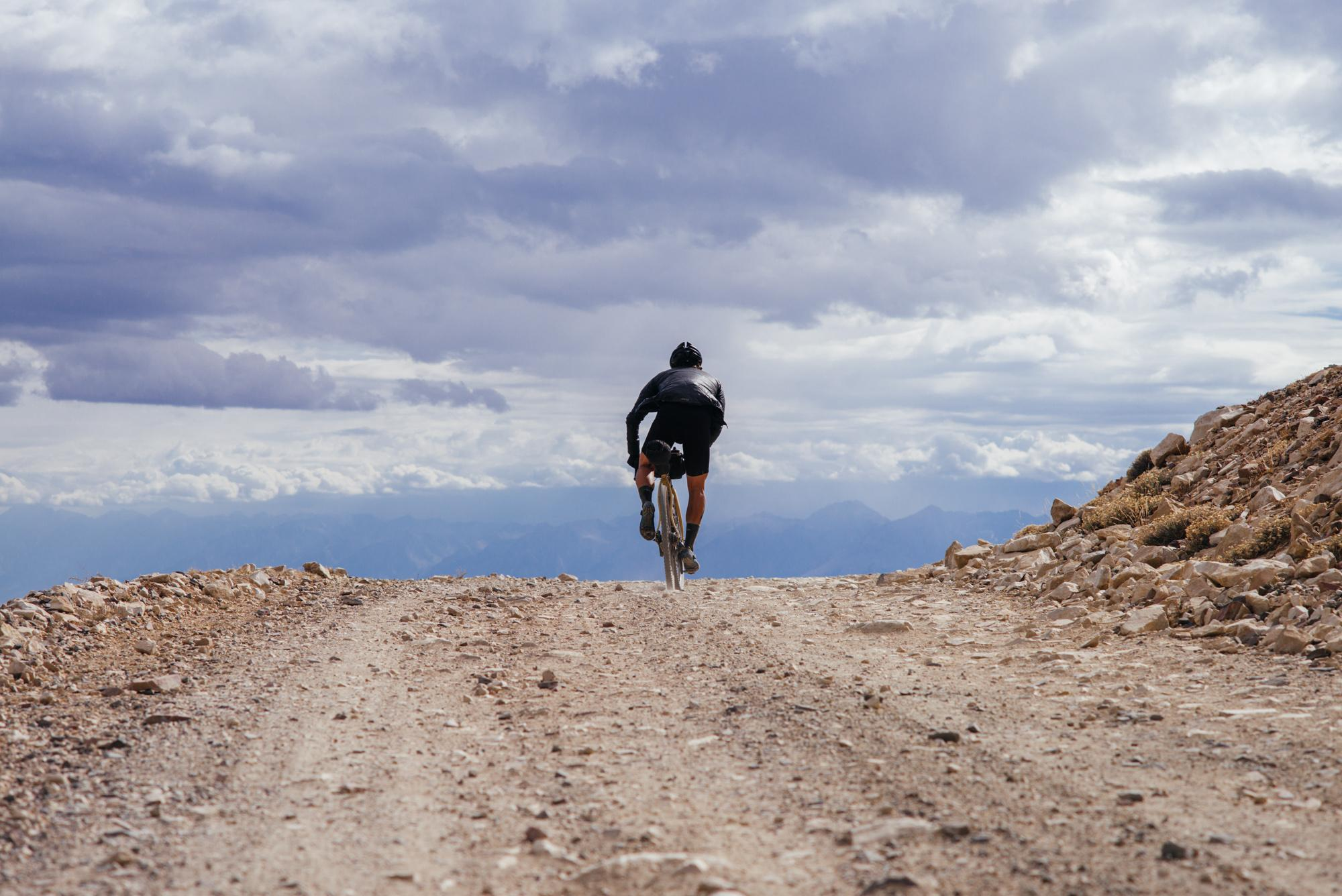 Riding Up White Mountain in the Inyo National Forest-84