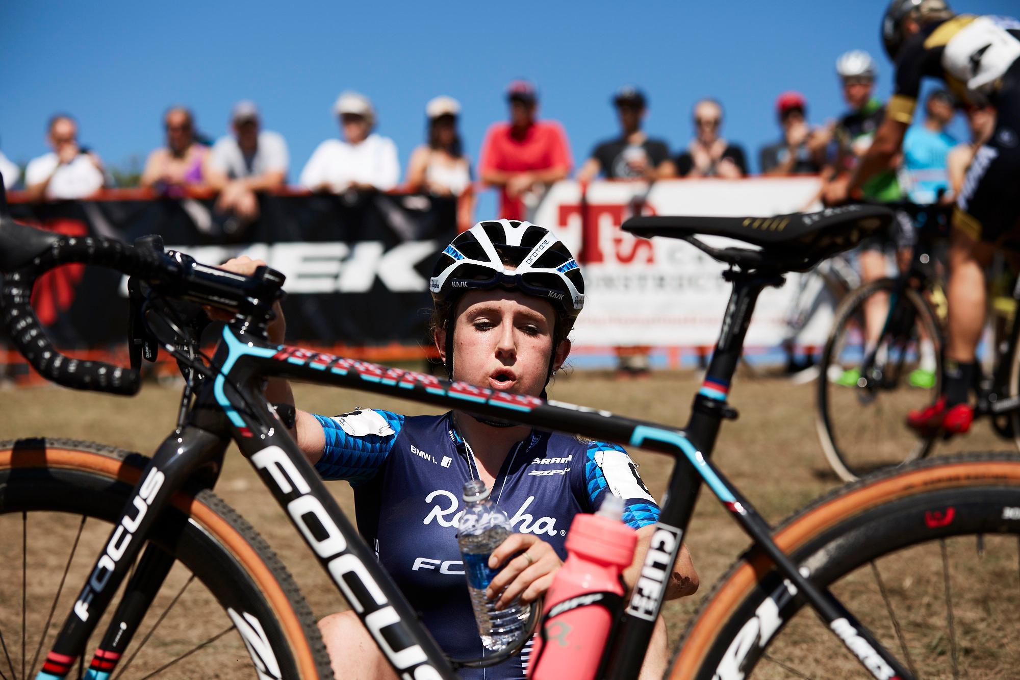 Ellen Noble 2nd, post race face 1.