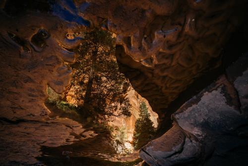 Slot canyons