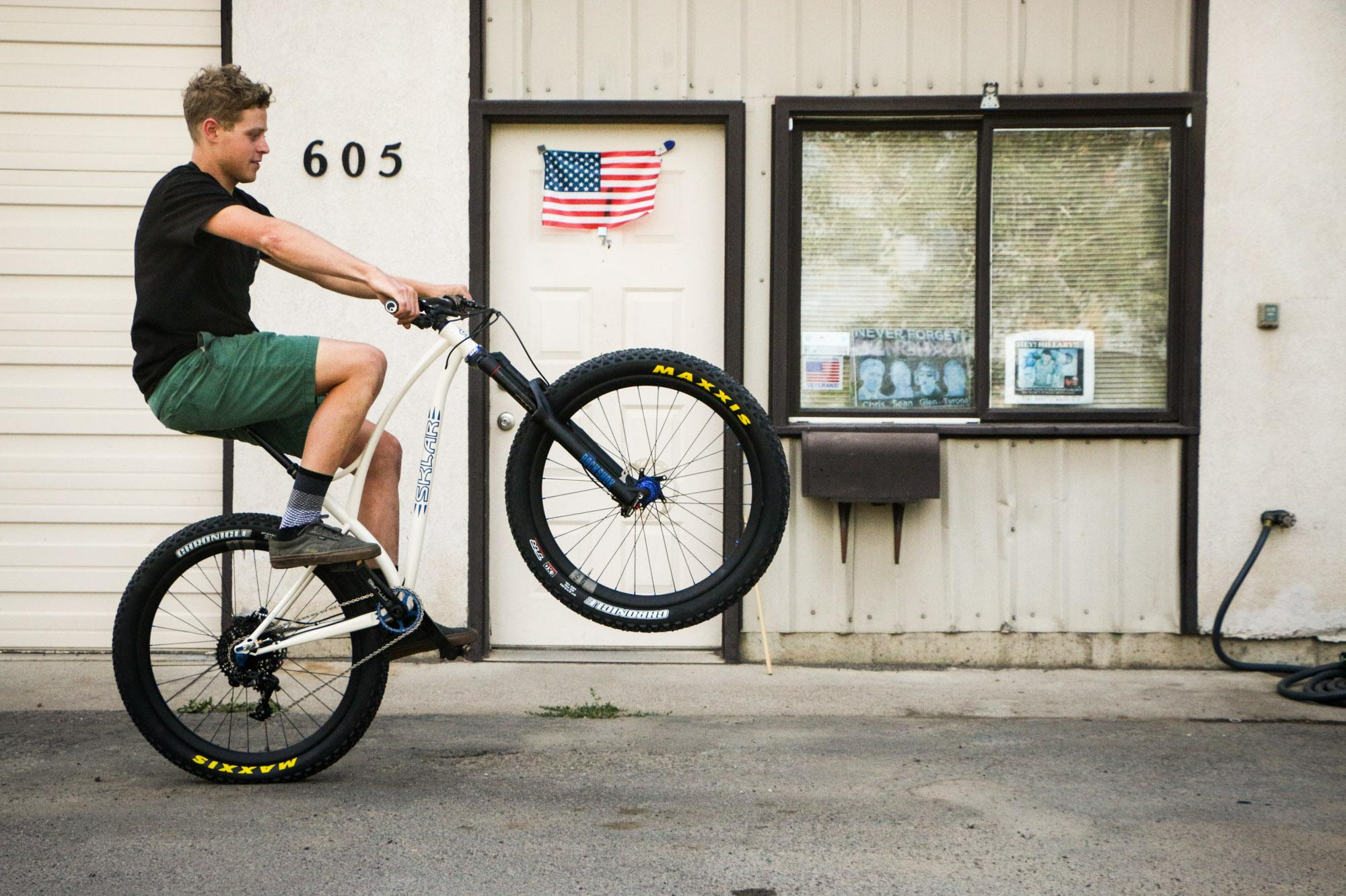 Sklar Bikes: He's Got Curves –Morgan Taylor