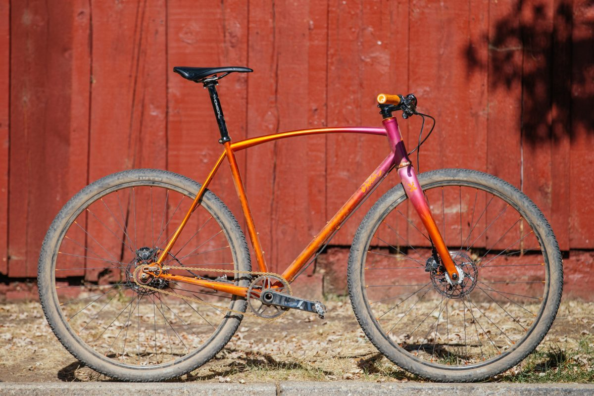 Adam's Sklar Single Speed 'Cross Bike