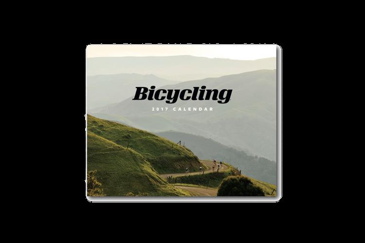 I Photographed the 2017 Bicycling Magazine Calendar
