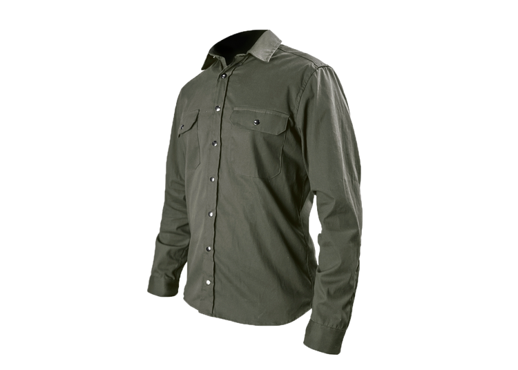 F*ck Yeah Olive Drab Mission Workshop Sansom Overshirt