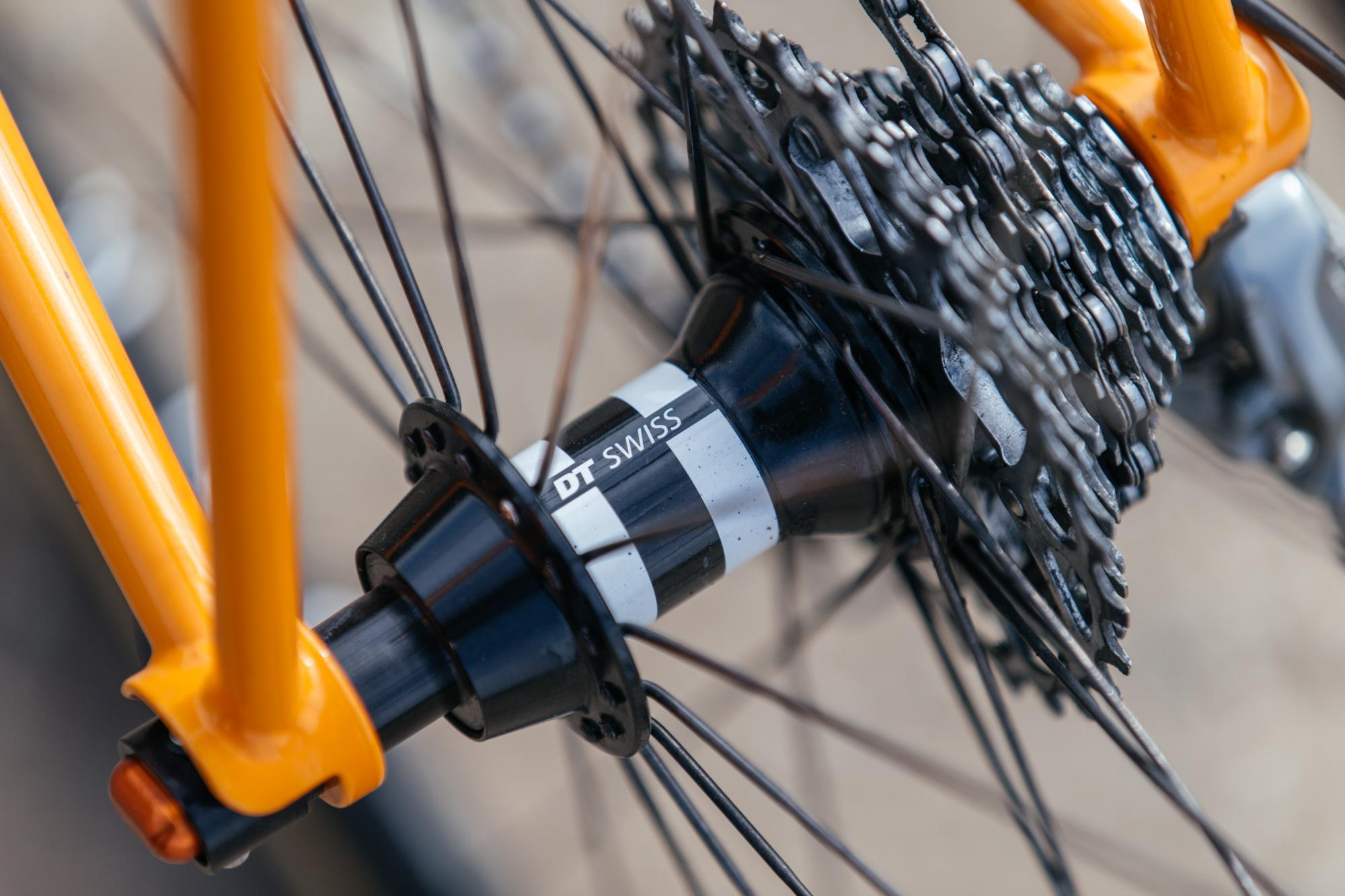 Garrett's Falconer x Hunter Cycles Chubby Road Bike