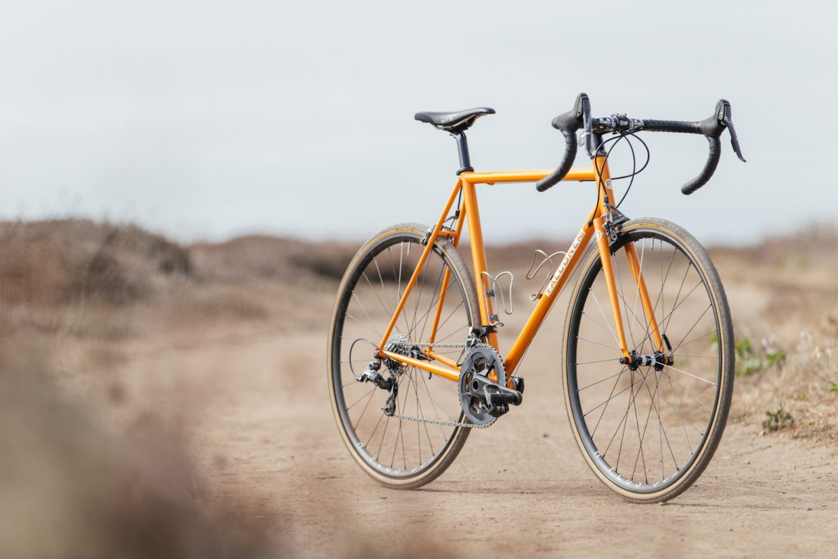 Garrett's Falconer x Hunter Cycles Chubby Road Bike