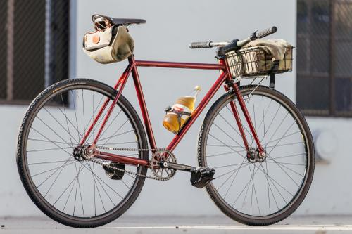 Golden Saddle Rides: Cinelli Mash After-Work Basket Bike