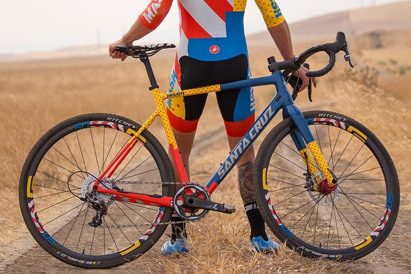 Limited Edition MASH Santa Cruz Bicycles Stigmata Framesets