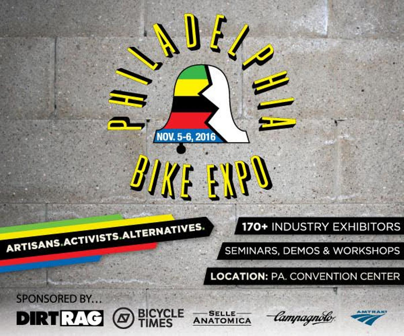 The Philly Bike Expo Returns for 2016!