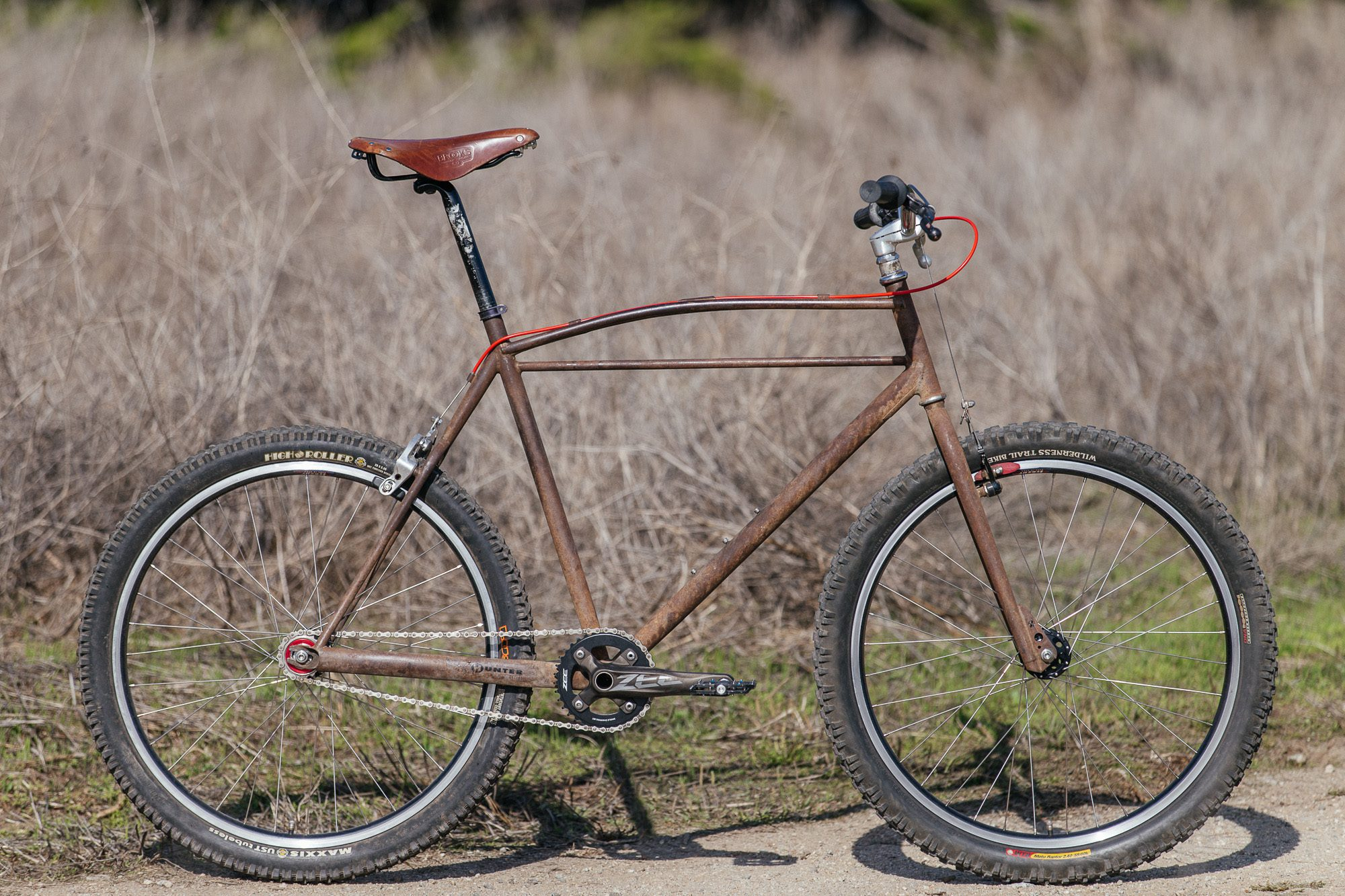 Rick Hunter's Rusty Singlespeed Cruiser