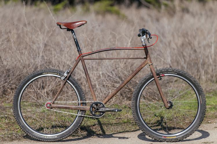 Rick Hunter's Trusty Rusty Singlespeed Cruiser