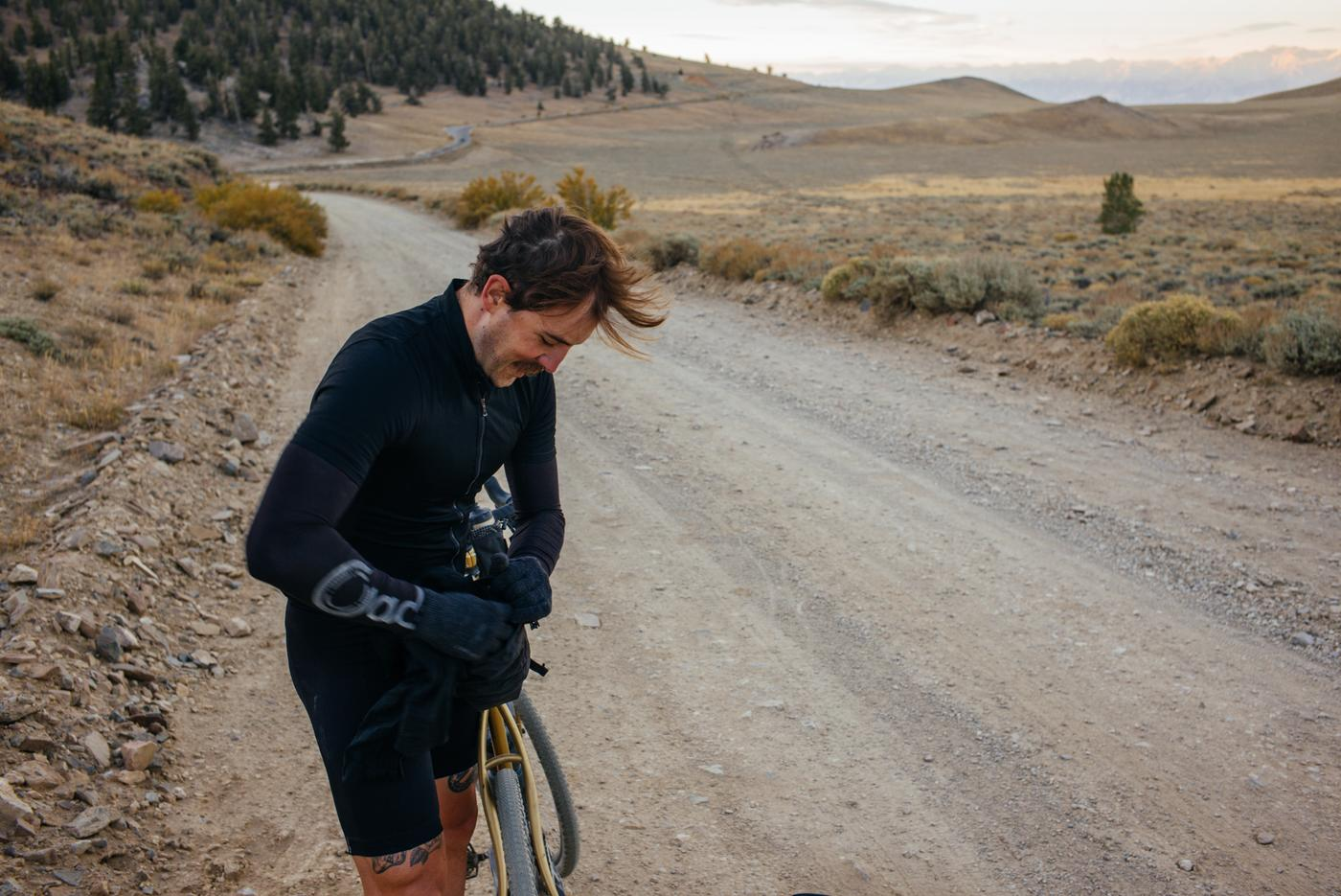 Riding Up White Mountain in the Inyo National Forest-21