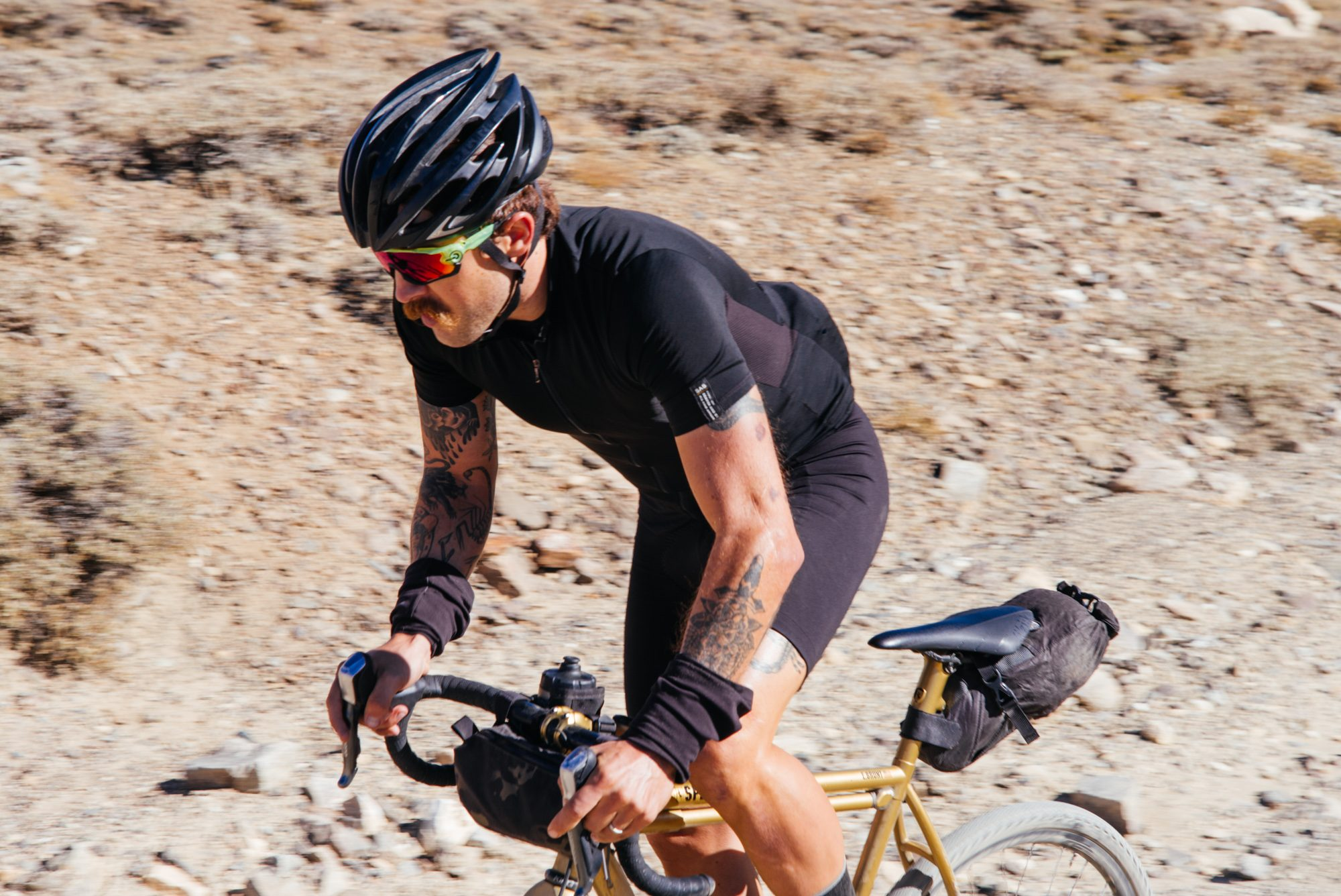Riding Up White Mountain in the Inyo National Forest-43