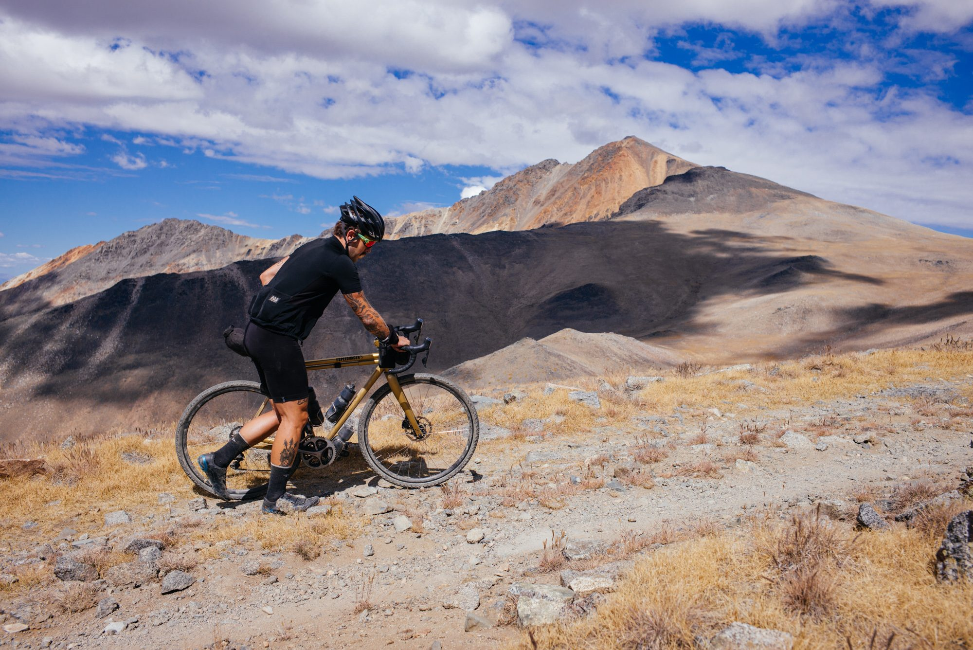 Riding Up White Mountain in the Inyo National Forest-53