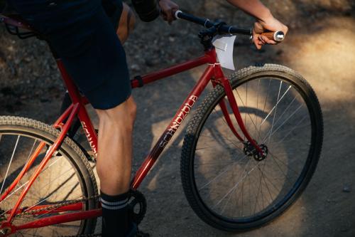 Ian rode a brakeless fixed!