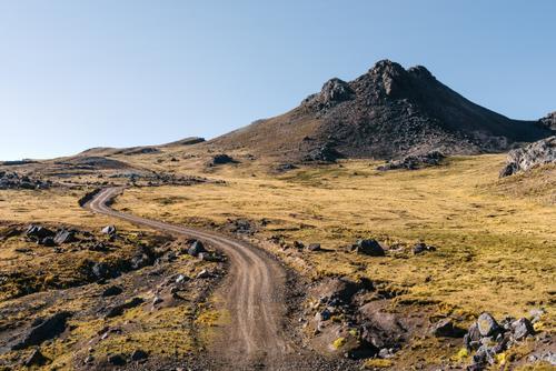 High altitude terrain