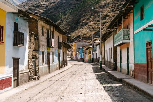 The empty streets of Vichaycocha