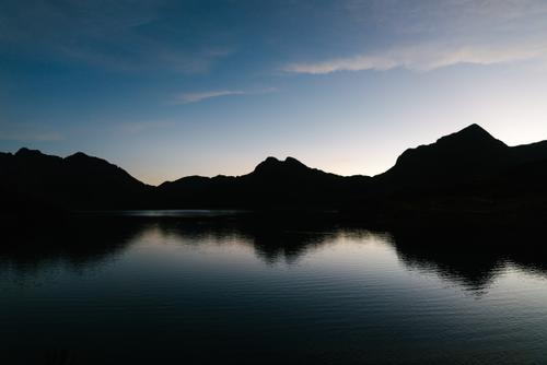 Dusk at Laguna Marcapomacocha