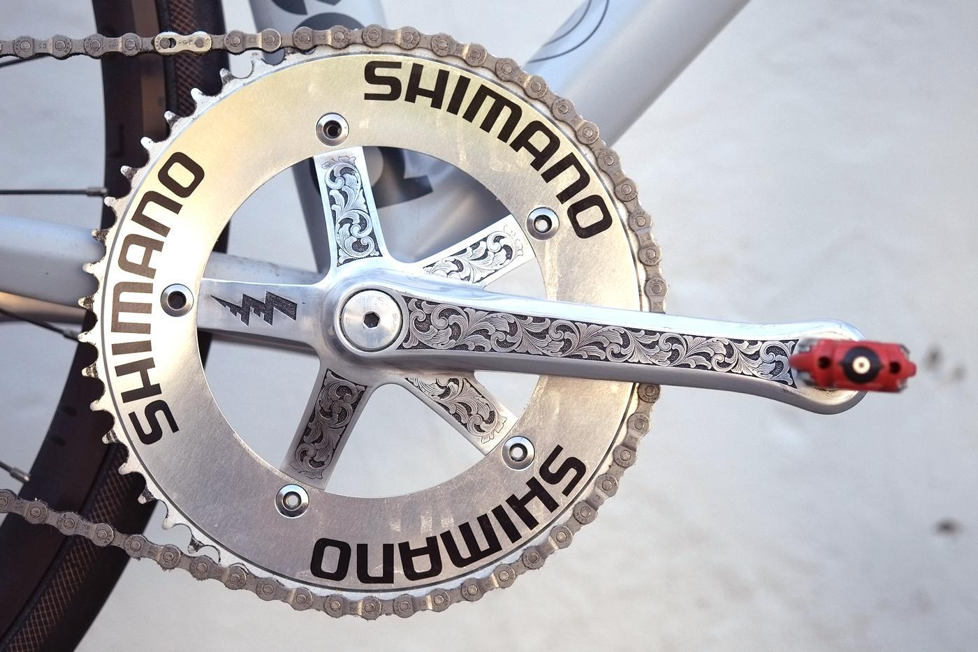 Simon Lee's Stanridge Speed 77 Track Bike
