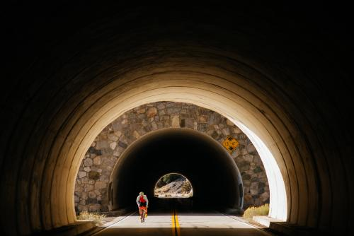 Tunnel vision.