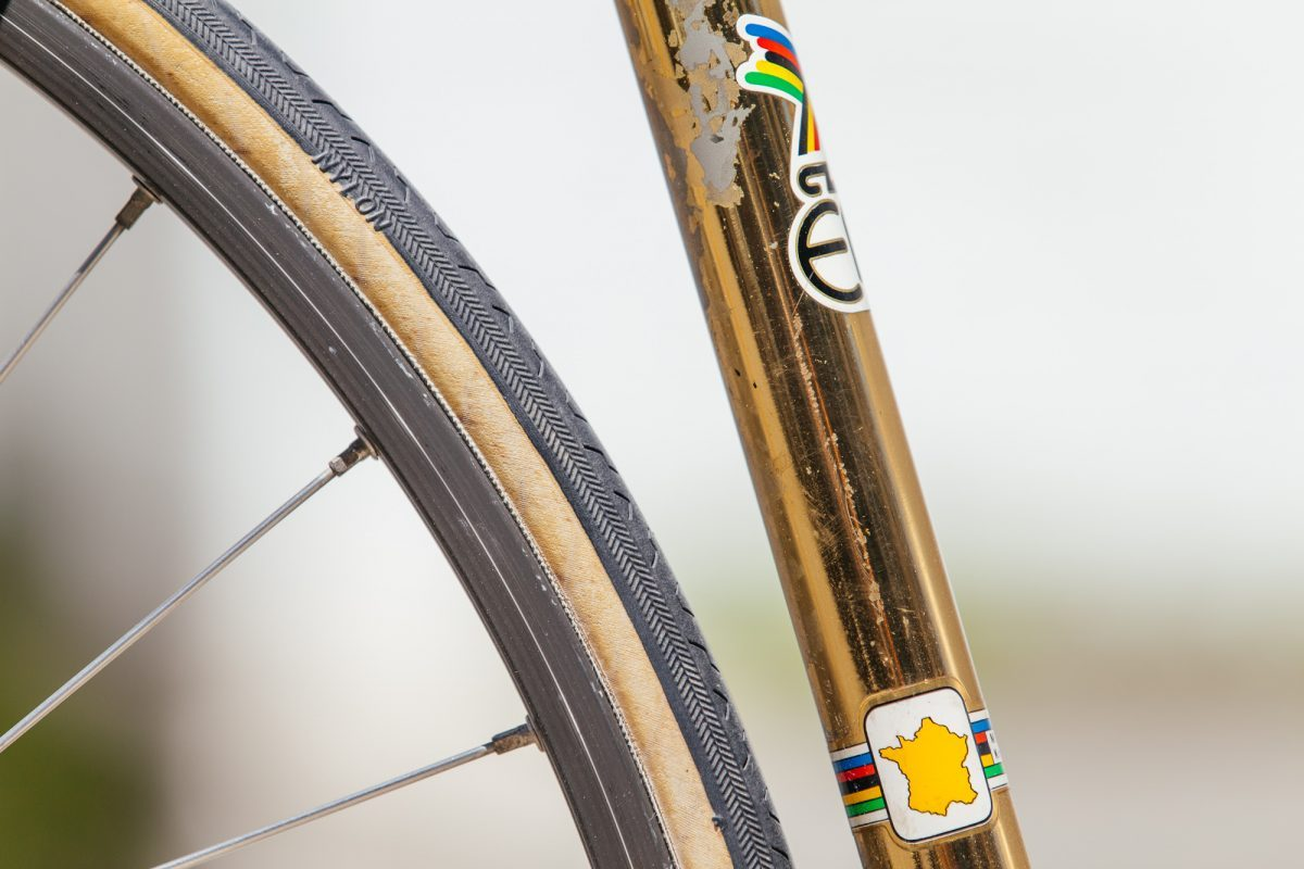A Shifter Bikes Gilded Eddy Merckx Professional with Campagnolo