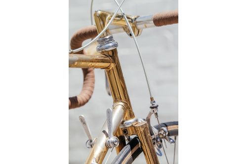 A Shifter Bikes Gilded Eddy Merckx Professional with Campagnolo 50th-23