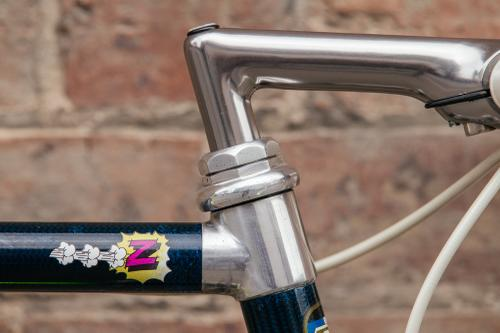 A Shifter Bikes 1990 Team Z TVT Carbone Lemond with C-Record