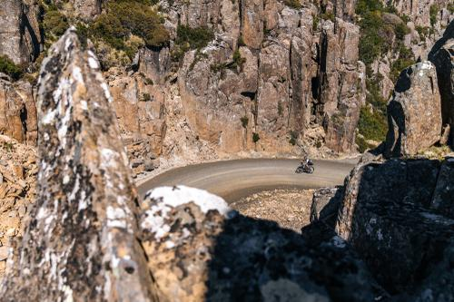 Exploring Eastern Tasmania by Bike: Climbing Jacob's Ladder in the Ben Lomond National Forest