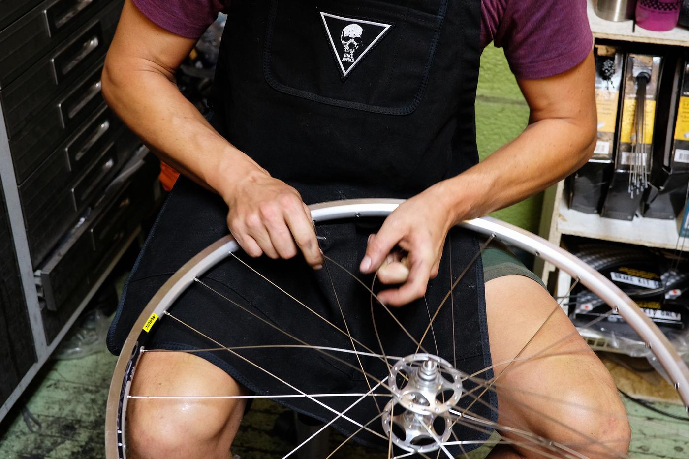 Bike Jerks: Holy Mountain Work Apron