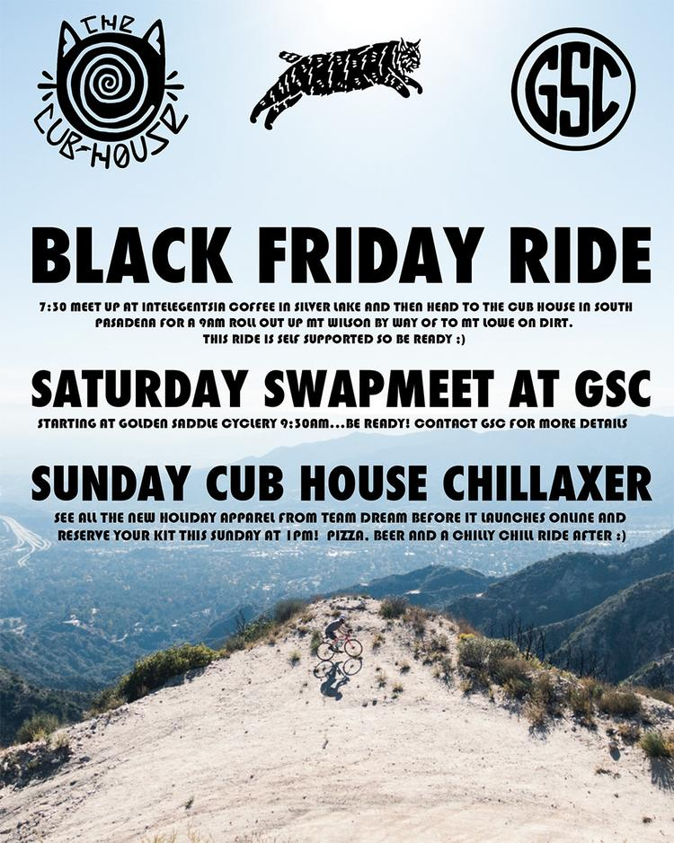 Black Friday Ride at Golden Saddle Cyclery