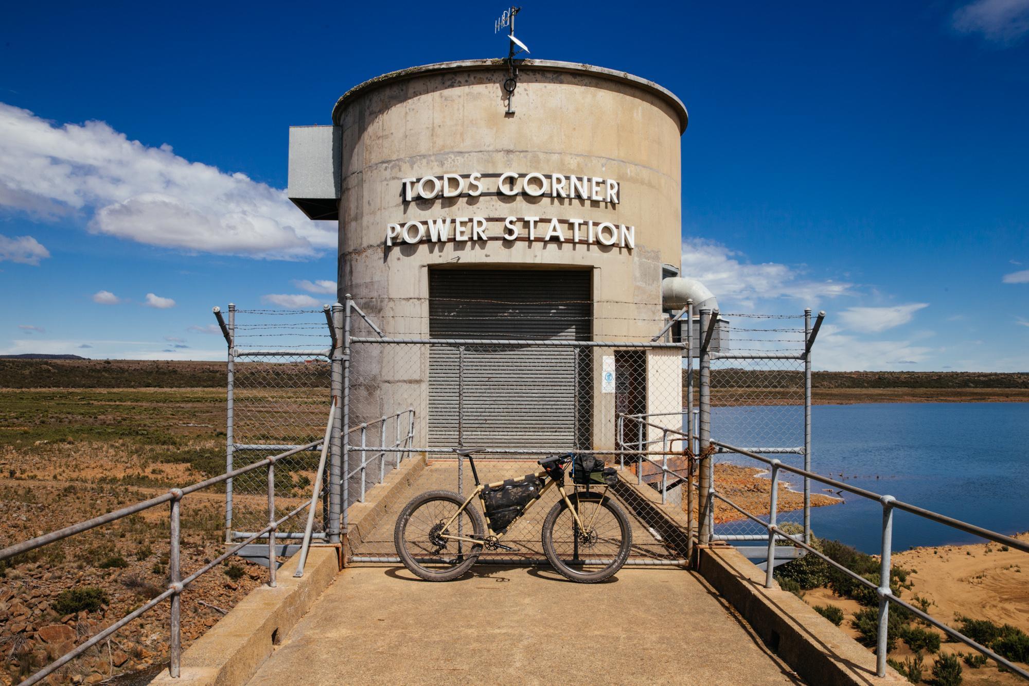 Hydro power plant.