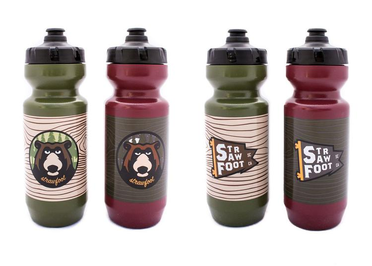 Strawfoot Dopey Bear Bottles