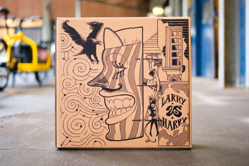 New packaging art (Side 1)