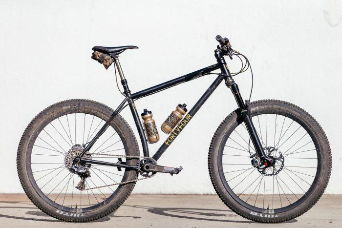 My 44 Bikes Marauder Hardtail is Steady Shreddin on Ibis 941 Wheels