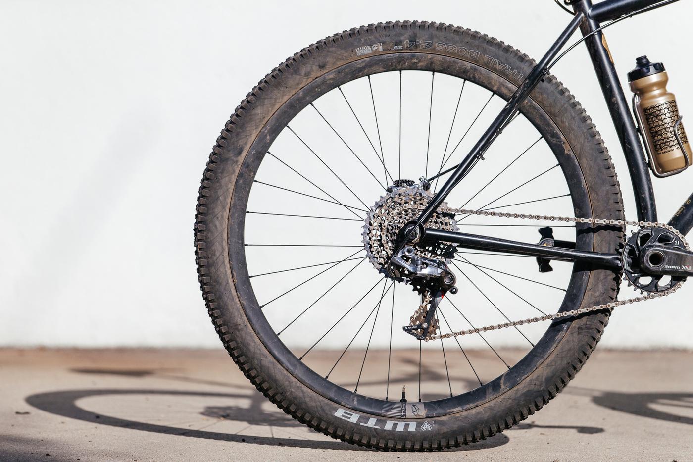 My 44 Bikes Marauder Hardtail is Steady Shreddin on Ibis 741 Wheels