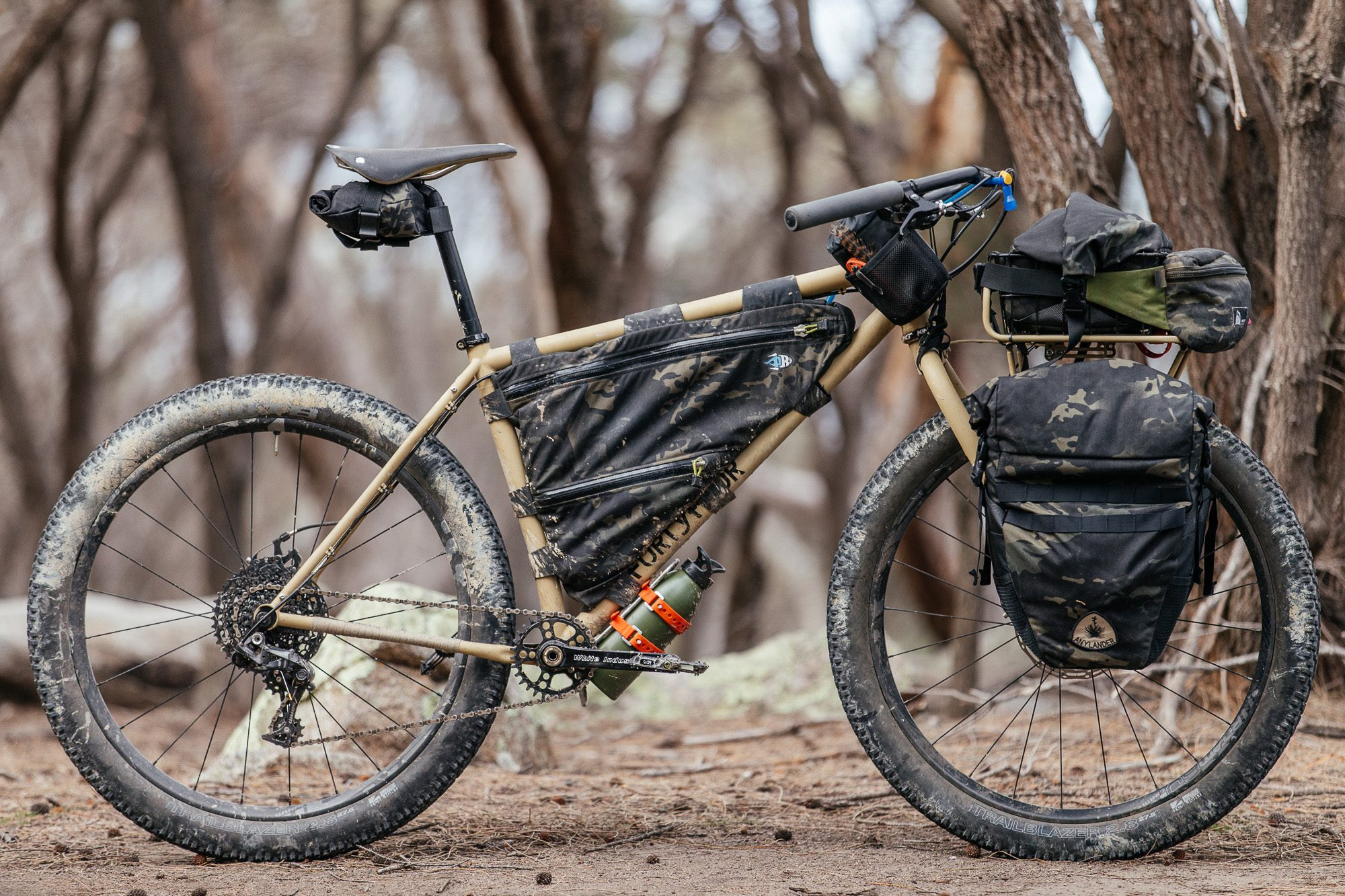 My Bush Blasted 44 Bikes Rigid MTB Tourer