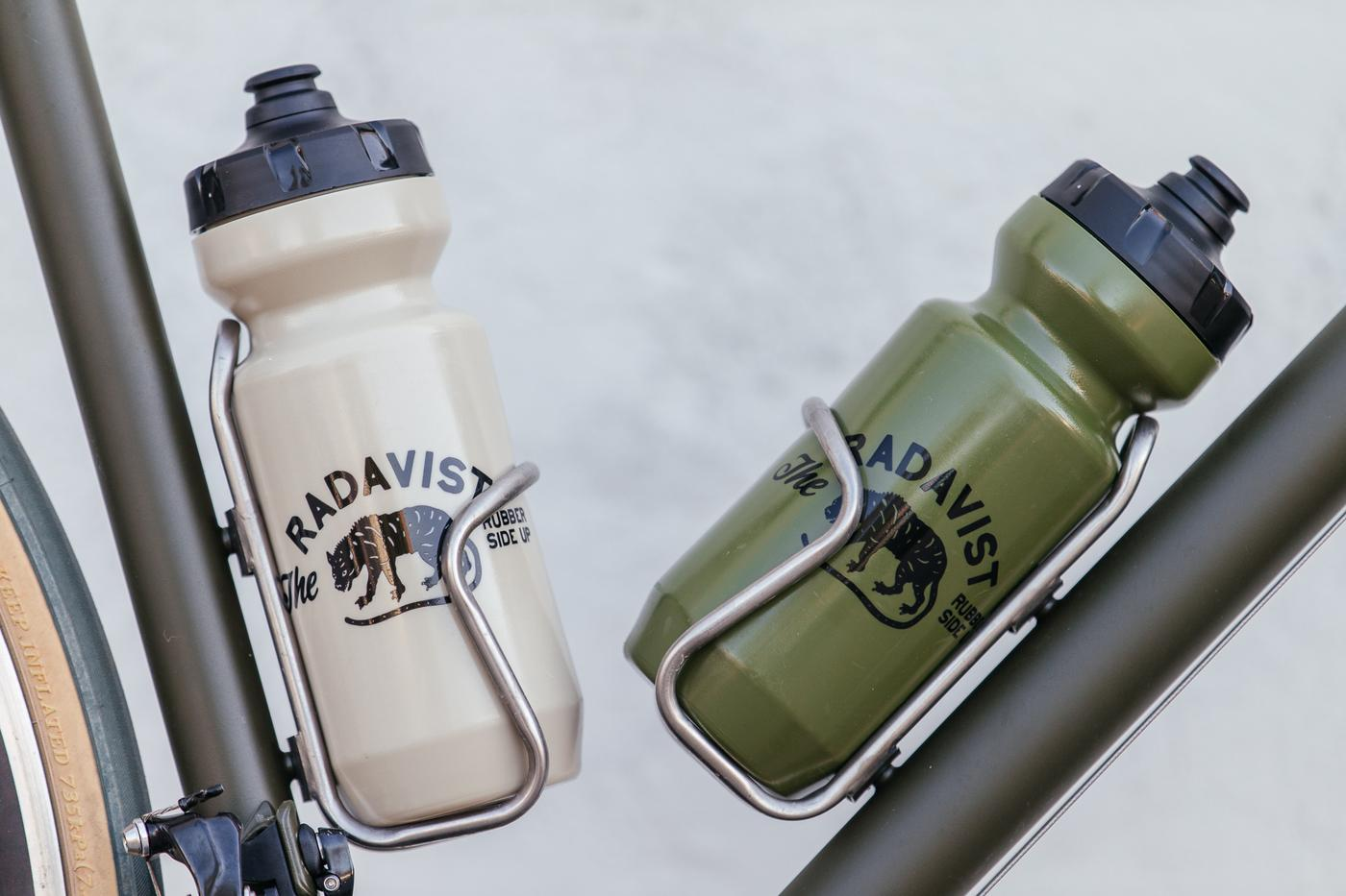 SOLD OUT! The Radavist Olive Drab and Desert Tan Bottles