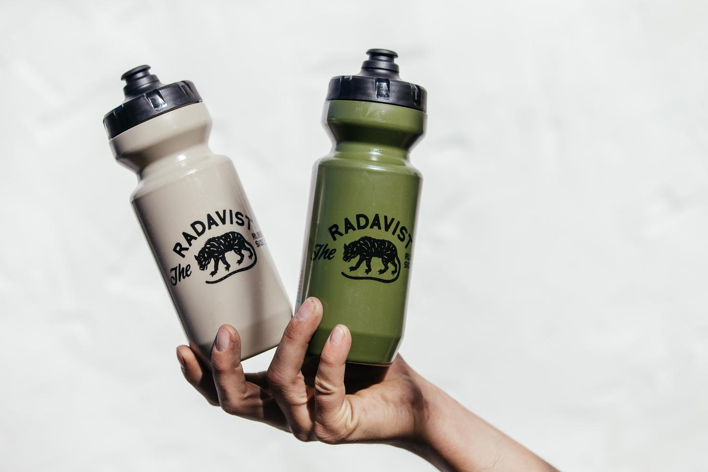 SOLD OUT AGAIN! Olive Drab and Desert Tan Radavist Bottles