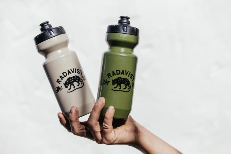 SOLD OUT: The Radavist Olive Drab and Desert Tan Bottles