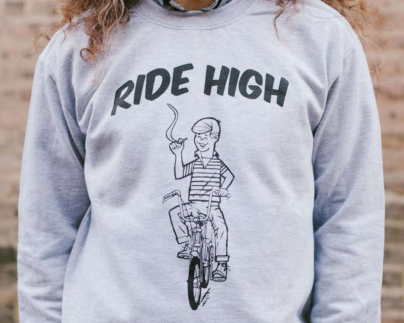 Ride High Crewneck