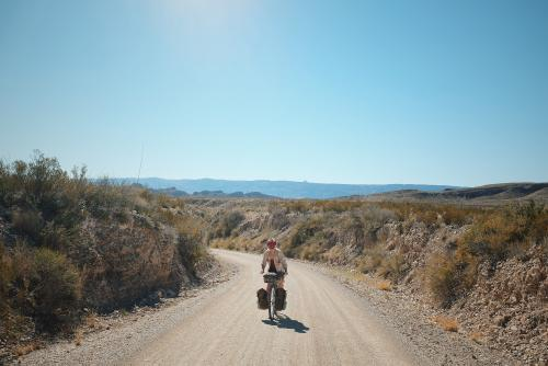 Big Bend Bicycle Camping - Jolene Neve