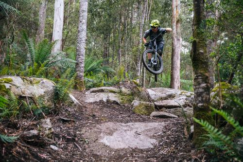 The lower section to Big Chook had tons of awesome rock gaps.