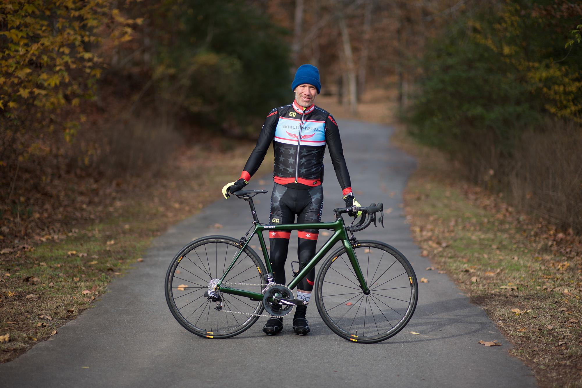 The HIA Velo Co-Founder's Personal Founder Road