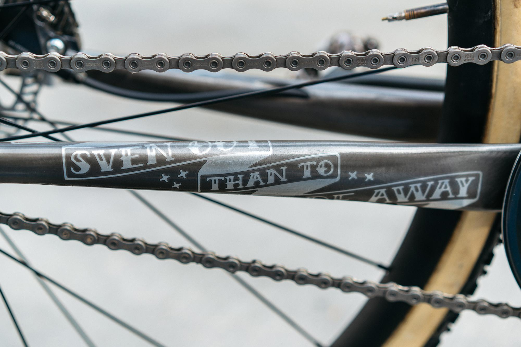 Sven Nys' SSCXWC Bike photo by Sean Talkington