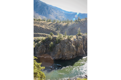 Our approach along the Yellowstone River was just a taste of the incredible canyons ahead of us in the park proper.