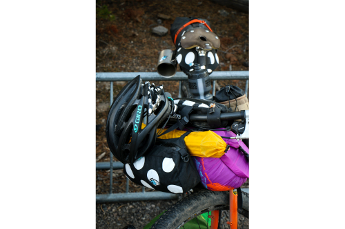 Bike racks at every attraction: If you had a bike, you'd be there by now!