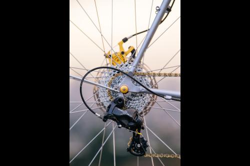Benedict's Crust Bikes Romanceur Touring Bike