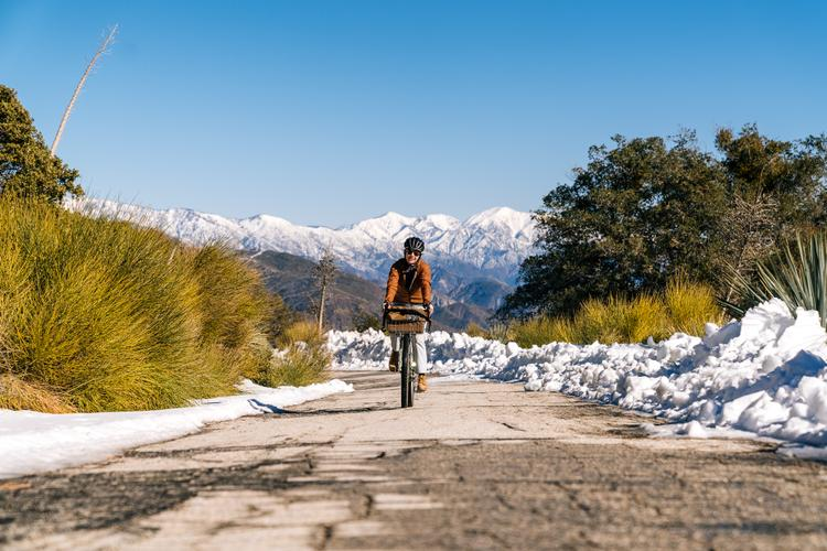 A Saturday Snow-Capped Mountain Ride