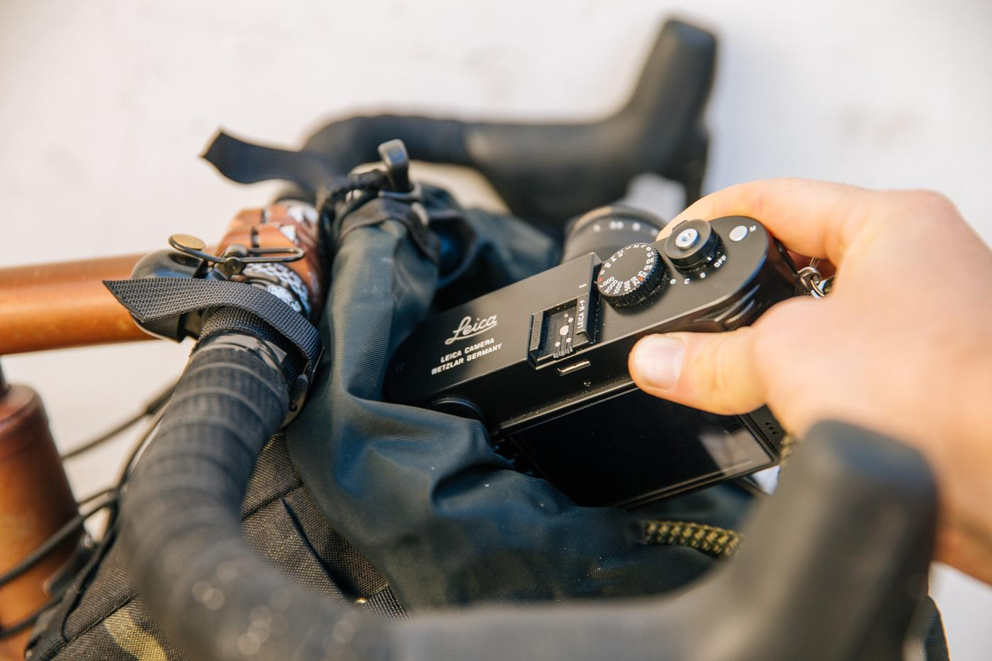 Outershell Makes the Best On-the-bike Camera Bag