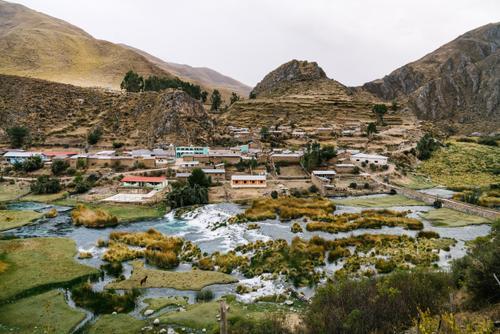 The quiet village of Vilca