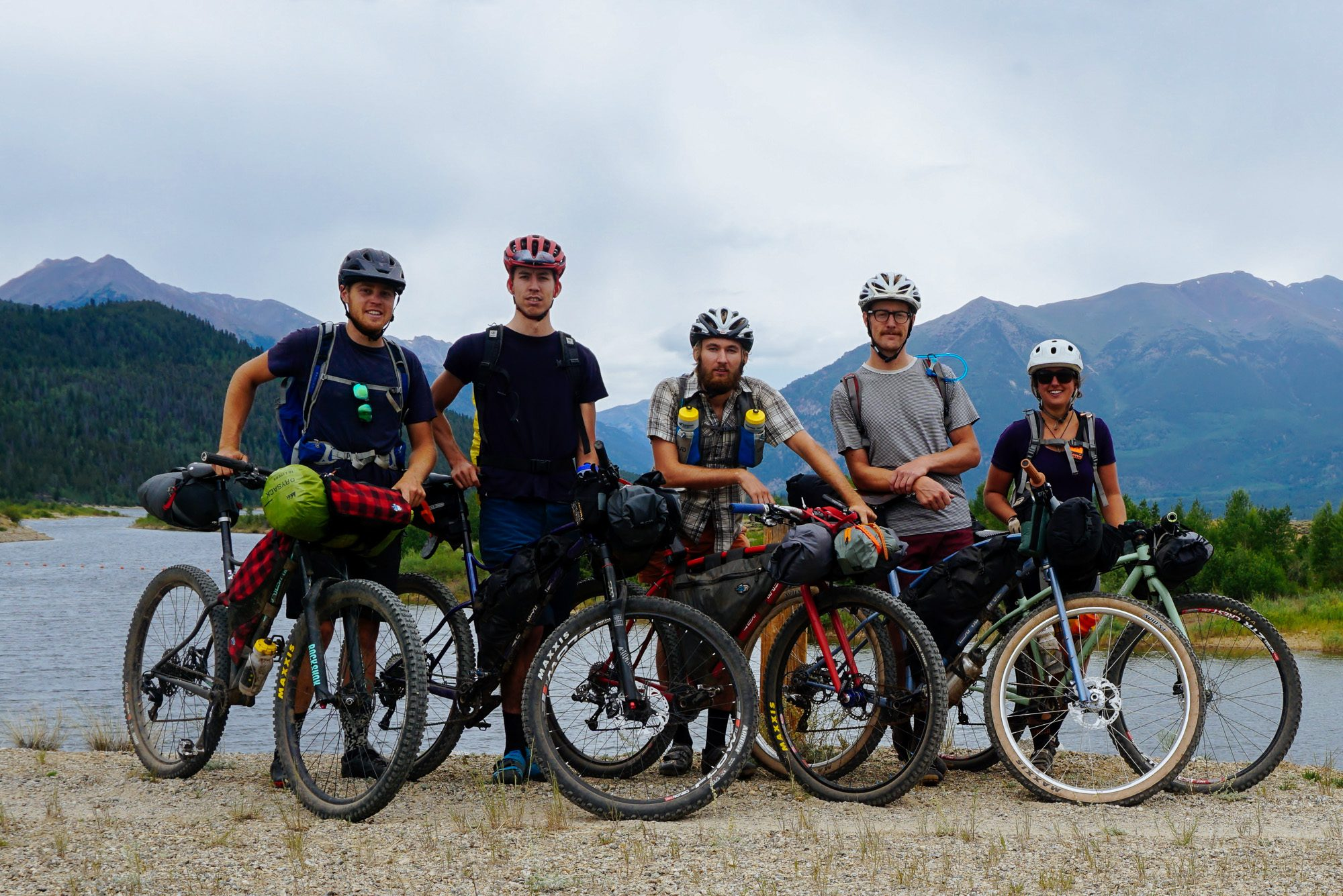 Sklar Bikes Factory Team Does The ColoRADo Trail